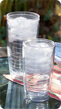 No Sweat Clear Tumblers